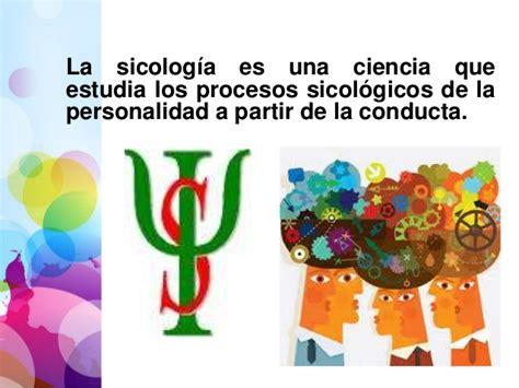 Sicología como ciencia