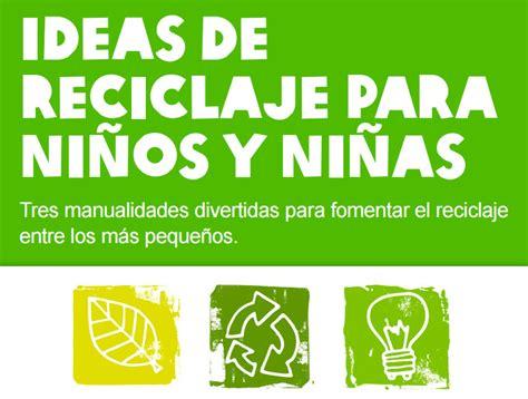 """""""Ideas de reciclaje para niños y niñas"""" de OXFAM Intermón ..."""