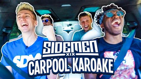 SIDEMEN CARPOOL DISS TRACK KARAOKE   YouTube