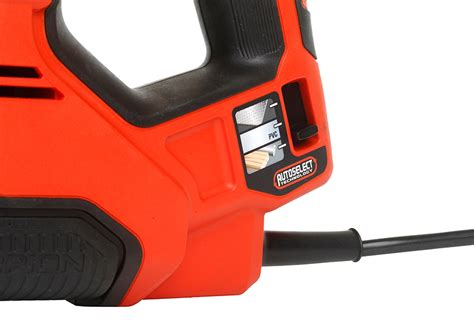 Sierra de sable BLACK & DECKER SCORPION 500W+MAT+3 HOJAS ...