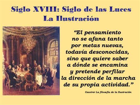 SIGLO XVIII KANT Y LA ILUSTRACION