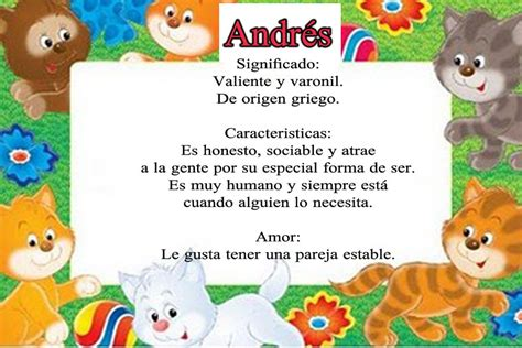 Significado de Andrés - Ejemplos De