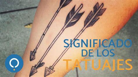 SIGNIFICADO de los TATUAJES - Tatuajes de FLECHAS - YouTube