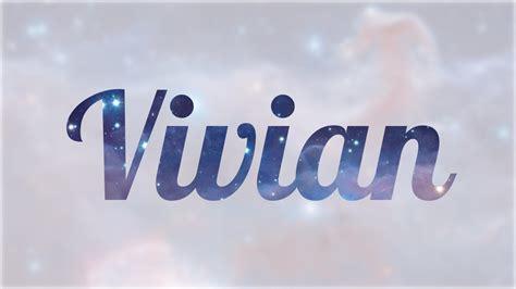 Significado de Vivian, nombre Inglés para tu bebe niño o ...
