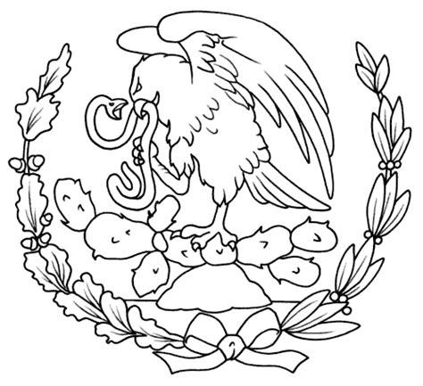 Significado del escudo nacional mexicano para niños ...