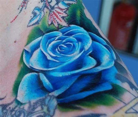 Significado del tatuaje de la rosa azul - Esoterismos.com