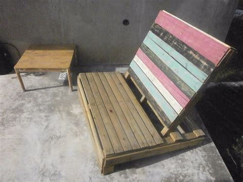 Sillones Con Palets Exterior. Sillones Palets Mesa Pallet ...