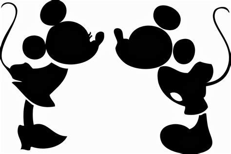 Silueta de Mickey Mouse para imprimir   Imagui