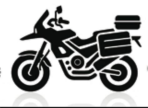 silueta moto trail   Attachment   Solo viajes inolvidables