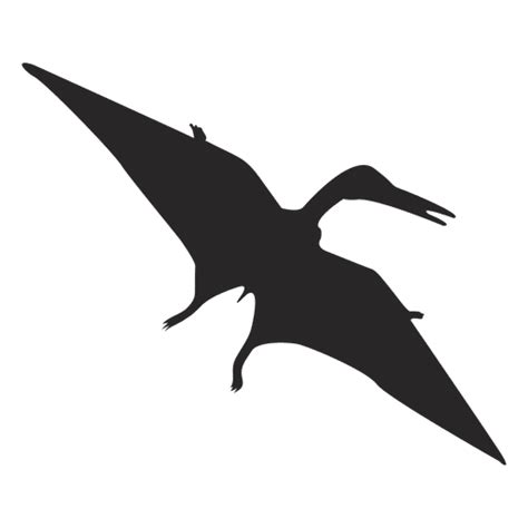 silueta pterosaurio - Descargar PNG/SVG transparente