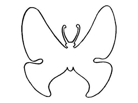 Siluetas de mariposas para colorear   Imagui