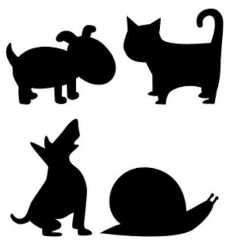 siluetas negras animales para recortar | Imagenes y ...