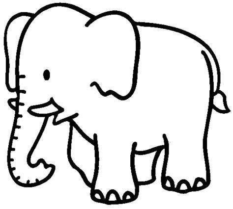 Siluetas negras infantiles elefante.   Imagui
