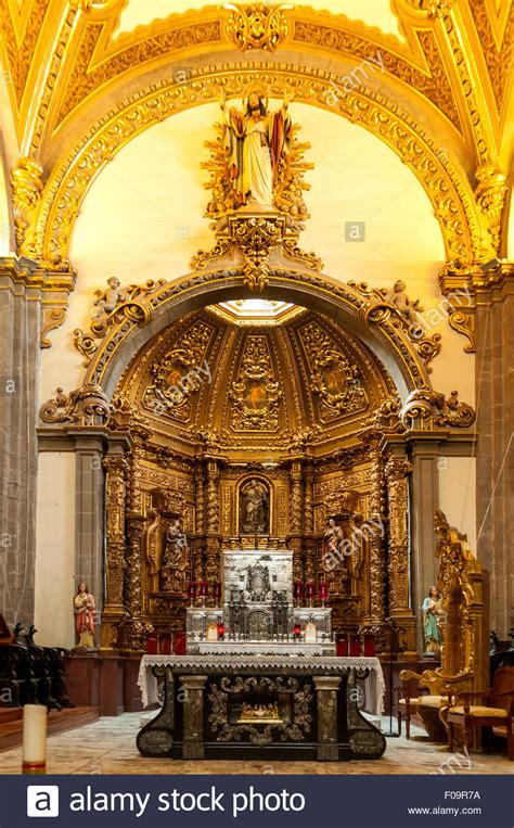 Silver Altar at Old Basilica of Our Lady of Guadalupe ...