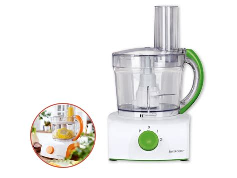 Silvercrest Kitchen Tools 350W Food Processor   Lidl ...