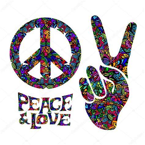 simbolo di hippy retrò — Vettoriali Stock © YulianaS #94100268