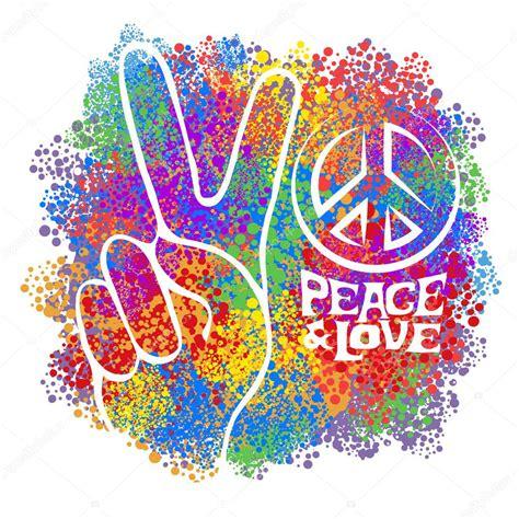 Simbolo di hippy retrò — Vettoriali Stock © YulianaS #94100274