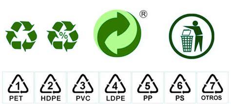 Símbolos de las bolsas de plástico   Uso y significado