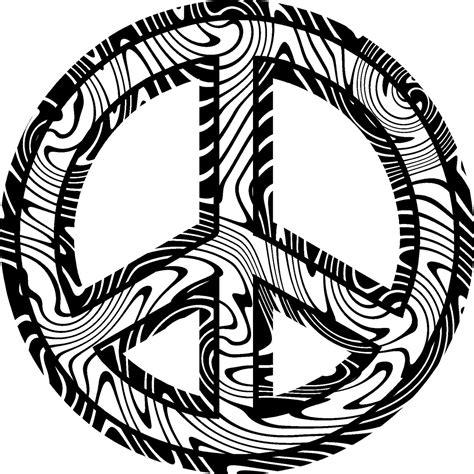 Simbolos hippies para colorear   Imagui