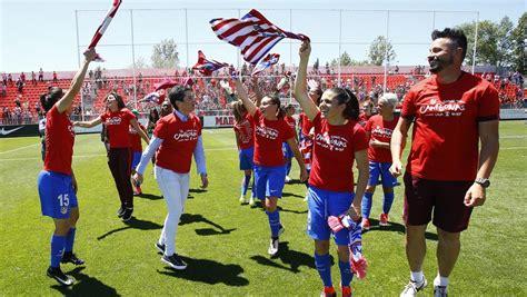 Simeone, Torres y Koke felicitaron al Atleti Femenino ...
