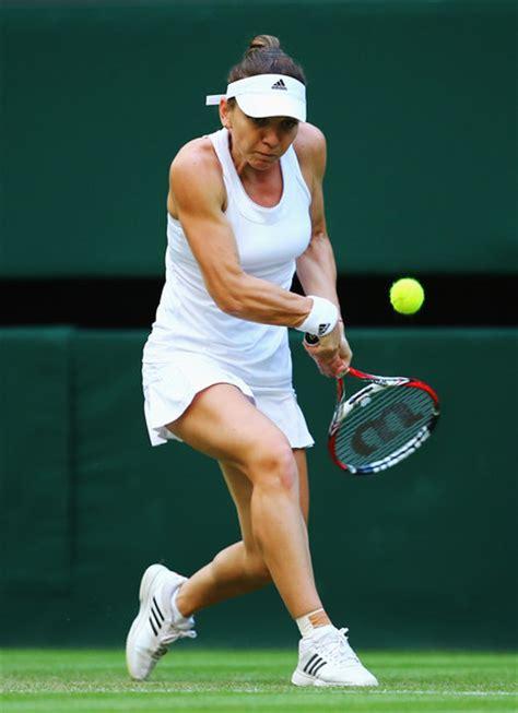 Simona Halep Photos Photos - Wimbledon: Day 2 - Zimbio
