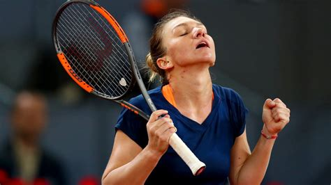 Simona Halep reaches Madrid Open final after beating ...