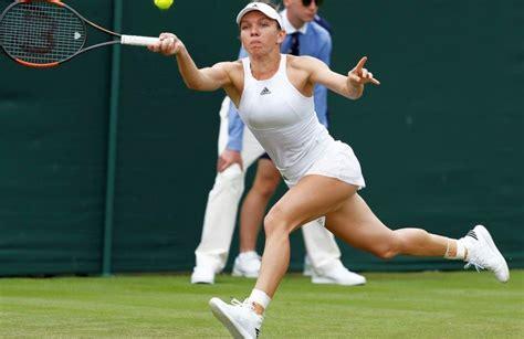 Simona Halep s-a calificat în turul secund de la Wimbledon ...