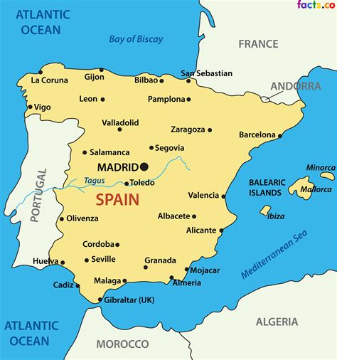 simple spain map   Google Search | Spain in 2018 ...