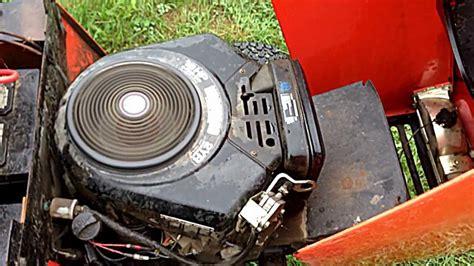 Simplicity LANDLORD 16 HP Vanguard Hydrostatic Engine FOR ...