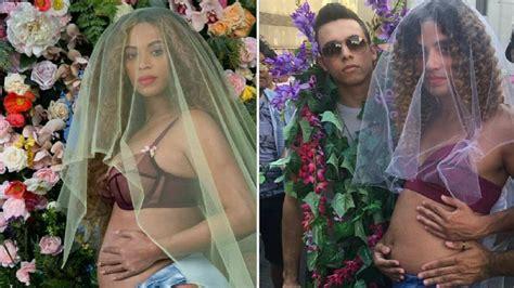 ¿Sin disfraz de última hora? Beyonce embarazada es la ...