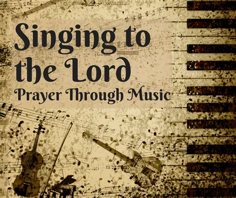 Sing to the Lord: How to Use Music as Prayer | Kathryn Shirey