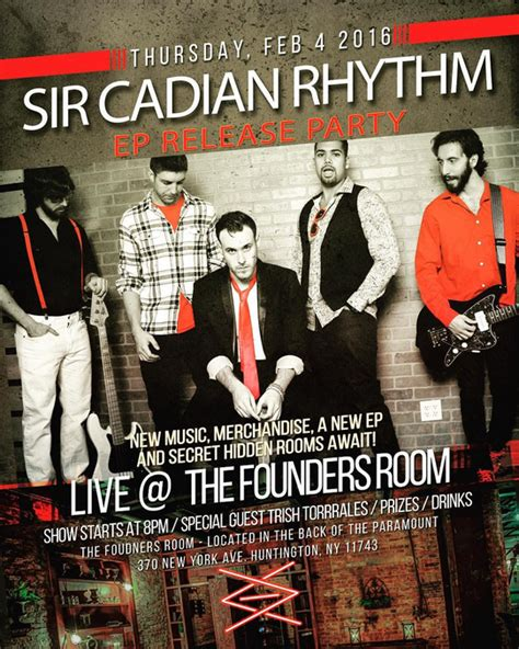 Sir Cadian Rhythm EP Release Party at The Paramount ...