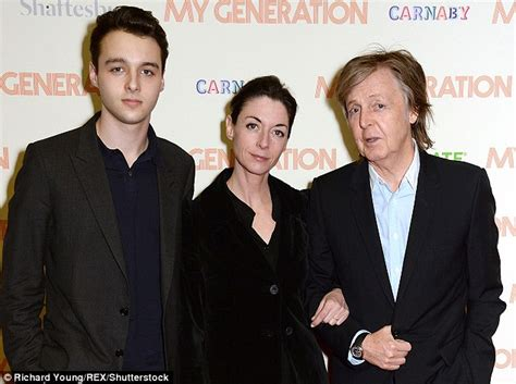 Sir Paul McCartney steps out with lookalike grandson ...