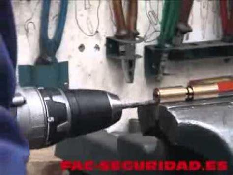 Sistema anti taladro Bombillo FAC   YouTube