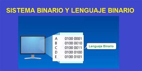 Sistema Binario y Lenguaje Binario Aprende Facil