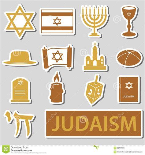 Sistema De Símbolos De La Religión Del Judaísmo De Las ...