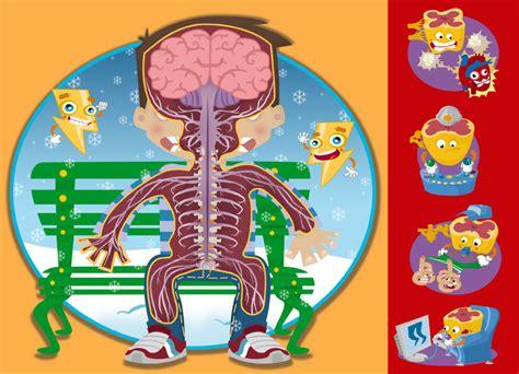 Sistema nervioso dibujos para niños   Imagui