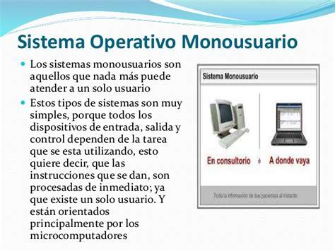 Sistema operativo monousuario