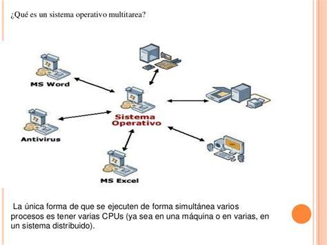 Sistema operativo multitarea . multiusuario