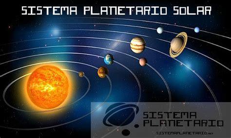 Sistema planetario solar con fondo y sus orbitas ...