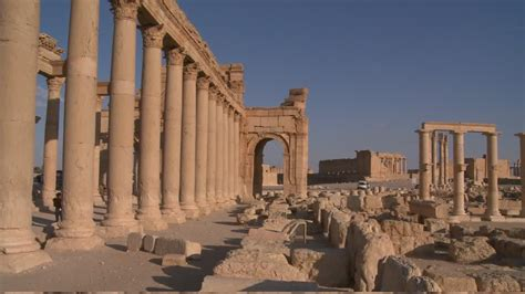 Sitio Arqueológico / Roma antigua / Palmira / Siria | HD ...