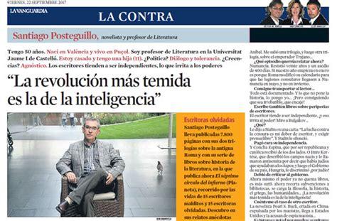 Sitio web oficial de Santiago Posteguillo