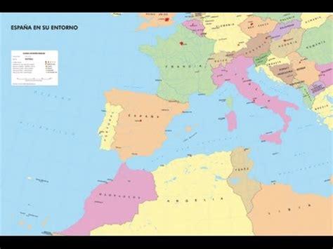 Situación geográfica de España - Geografía de España - YouTube