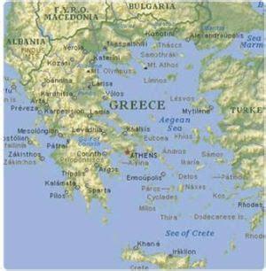 Situación geográfica   La Antigua Grecia