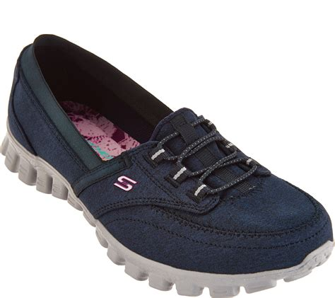Skechers EZ Flex Canvas Slip-on Shoes - Ringer - Page 1 ...