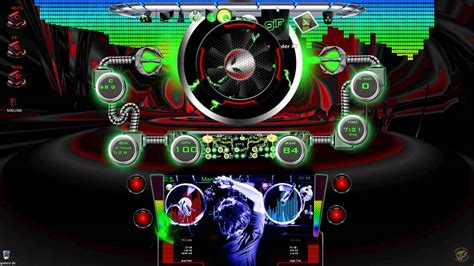 Skins rainmeter y reproductor de audio dj mix xion para ...