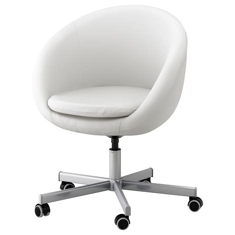SKRUVSTA Swivel chair Idhult white - IKEA