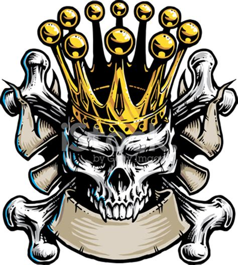 Skull King Stock Vector   FreeImages.com