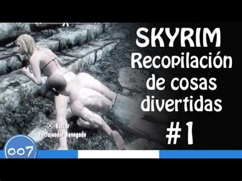 Skyrim | Recopilación de cosas divertidas # 1 - YouTube