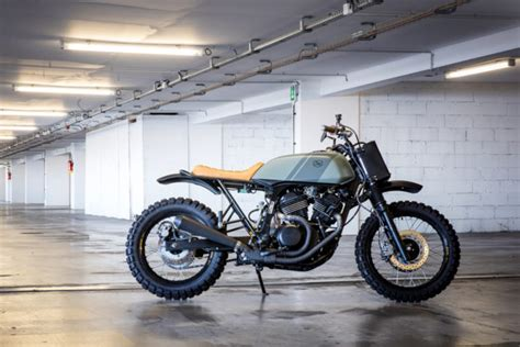 Sleek: Cafe Racer Dreams revamps the Honda Transalp | Bike ...